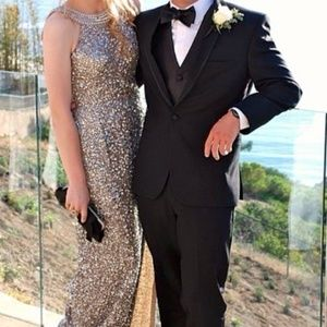 Scala Prom Dress Sequin with train